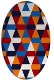 rug #1156319 | oval red popular rug