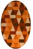 rug #1156342 | oval geometry rug