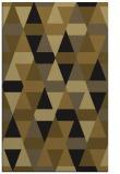 rug #1156451 |  mid-brown retro rug
