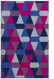 rug #1156467    blue retro rug