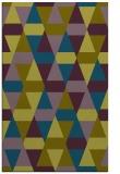 rug #1156507    green retro rug