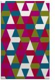 rug #1156547 |  red retro rug