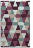 rug #1156595 |  pink retro rug