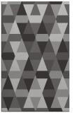 rug #1156651 |  red-orange retro rug