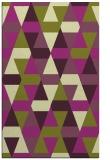 rug #1156675 |  green retro rug