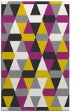 rug #1156755 |  yellow geometry rug