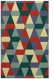 rug #1156763 |  yellow retro rug