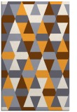 rug #1156795 |  light-orange retro rug