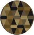 rug #1156819 | round black retro rug