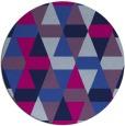 rug #1156837 | round retro rug