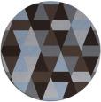 rug #1156909 | round retro rug