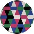 rug #1156999 | round black retro rug