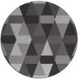 rug #1157019   round red-orange geometry rug