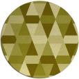 rug #1157135 | round light-green popular rug