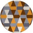 rug #1157163 | round light-orange popular rug