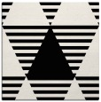 rug #1157539 | square black abstract rug