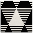 rug #1157679   square black graphic rug