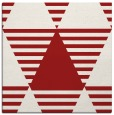rug #1157799 | square red graphic rug