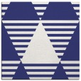rug #1157831 | square blue graphic rug