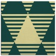 rug #1157867 | square yellow graphic rug