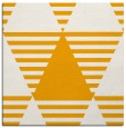 rug #1157887 | square light-orange retro rug