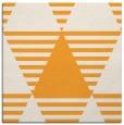 rug #1157899 | square light-orange abstract rug