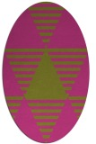 rug #1158247   oval light-green abstract rug
