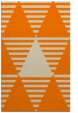 rug #1158271 |  orange graphic rug