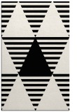 rug #1158275 |  white graphic rug