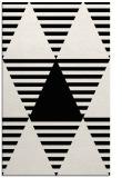 rug #1158275 |  black abstract rug