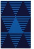 rug #1158303 |  blue abstract rug