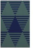 rug #1158311 |  blue graphic rug