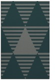 rug #1158399 |  blue-green graphic rug
