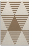 rug #1158427 |  mid-brown graphic rug