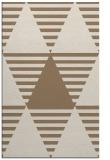 rug #1158427 |  mid-brown retro rug