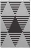 rug #1158491 |  red-orange retro rug