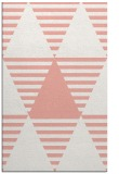 rug #1158507 |  pink retro rug