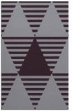 rug #1158523 |  purple graphic rug