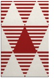 rug #1158535 |  red graphic rug