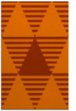 rug #1158543 |  red-orange popular rug