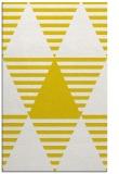 rug #1158595 |  yellow retro rug