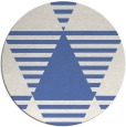 rug #1158687 | round blue abstract rug