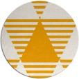 rug #1158991 | round light-orange popular rug