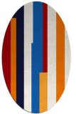 rug #1160000 | oval graphic rug
