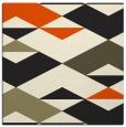 rug #1163079   square black graphic rug
