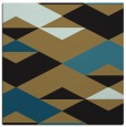 rug #1163083 | square black graphic rug
