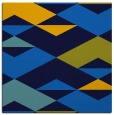 rug #1163087   square blue abstract rug