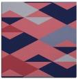 rug #1163147 | square blue-violet retro rug