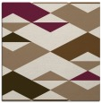 rug #1163211 | square mid-brown rug