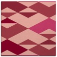 rug #1163287   square pink retro rug